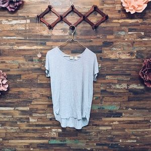 Lucy & Laurel ANTHRO | Short Sleeve Modal Tee | S